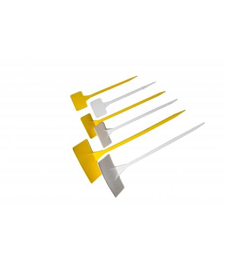 Plastic (geel+wit)