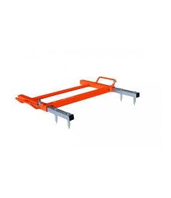 Stabilisatorplaat voor struikenrooier