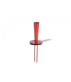 gronddoekprikker op steel (zonder steel)