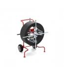 Oproller/afroller voor ronde en platte druppeldarm