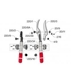 Onderdelen model F.220