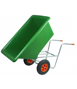 Kruiwagen kunststof 300 L