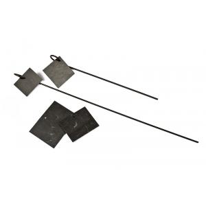 Porte-étiquettes métalliques