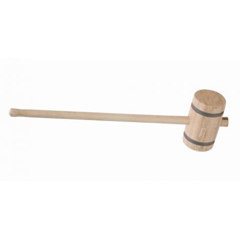 Houten hamer vernist